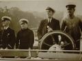 1940 King George - End of Trefriw Steamers -  r.Huw Williams (Huw Black) Eng next Capt Robert Hughes (Bob Cyrnol)