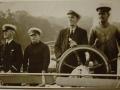 1940 King George - End of Trefriw Steamers -  r.Huw Williams (Huw Black) Eng next Capt Robert Hughes (Bob Cyrnol)