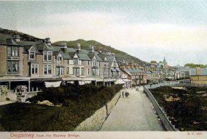 Deganwy from the Railway Bridge