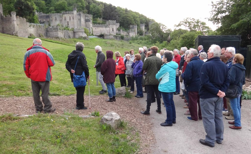 Visit to Gwrych Castle (2)