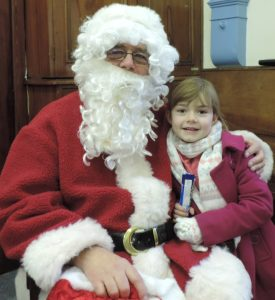 Santa visits DHG Open Day 2017